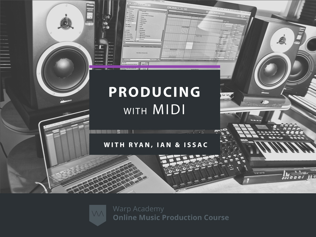 producing with midi