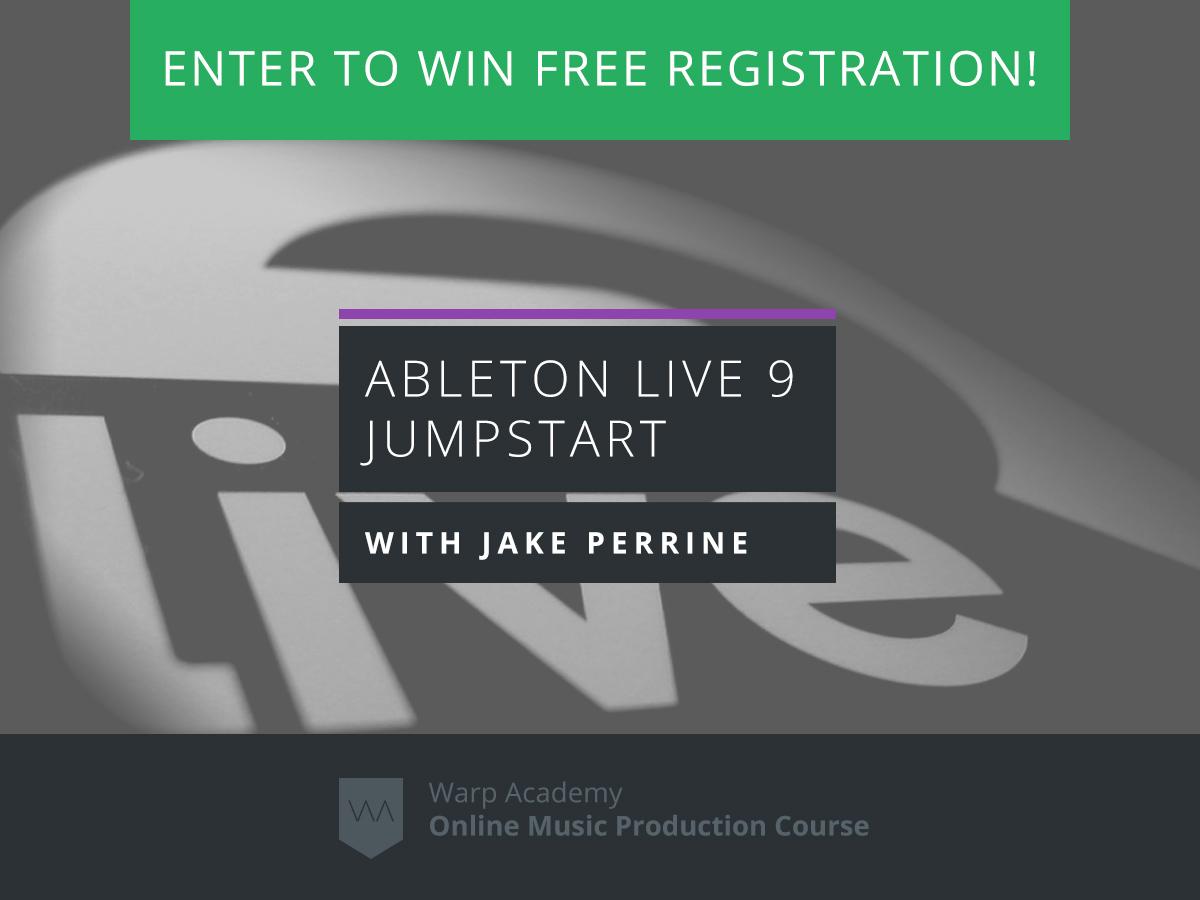 ableton live 9 jumpstart giveaway