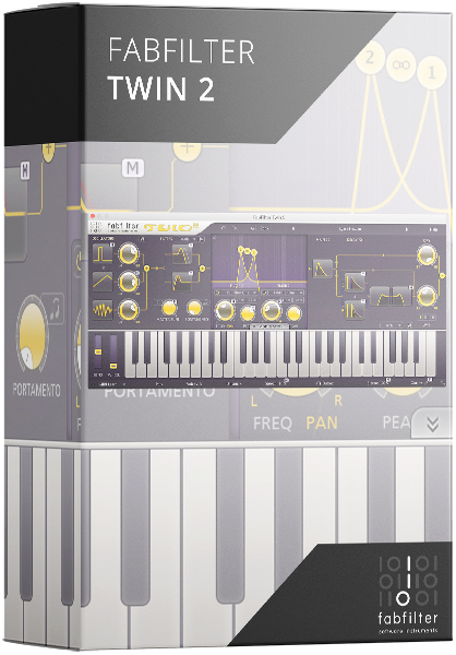Fabfilter Twin 2 Plugin Synthesizer