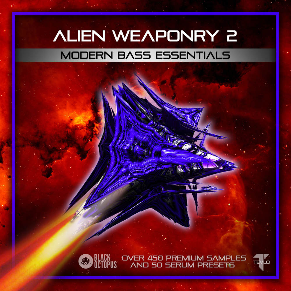 Black Octopus Sound | Alien Weaponry 2 – Modern Bass Essentials