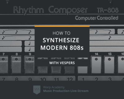 How to Synthesize Modern 808s
