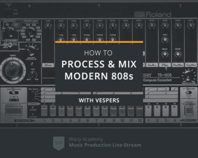 How to Process & Mix Modern 808s