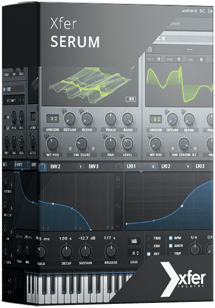 Warp Academy - Xfer Serum Software box